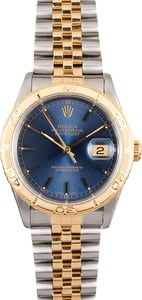 Rolex Thunderbird Datejust 16253 Blue