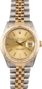 Pre Owned Rolex Thunderbird Datejust 16263 Turn-o-Graph