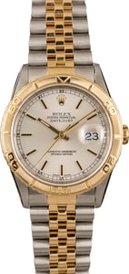 Pre-Owned Rolex Thunderbird Datejust 16263 Turn-o-Graph Bezel