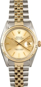 Rolex Two-Tone Datejust 16013
