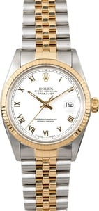 Rolex Two-Tone Datejust 16013 Jubilee