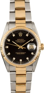 Rolex Two-Tone Datejust 16233 Oyster