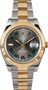Rolex Two-Tone Datejust II 116333 Roman Dial