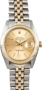 Rolex Two-Tone Datejust Reference 16013