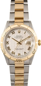Rolex Two-Tone Datejust Thunderbird 16263 Oyster