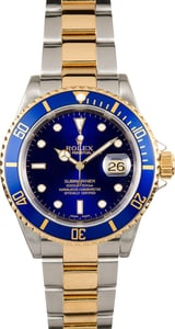 Rolex Two-Tone Submariner 16613 Certified Pre-Owned