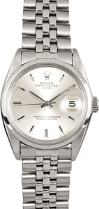 Rolex Vintage Date 1500 Stainless Steel