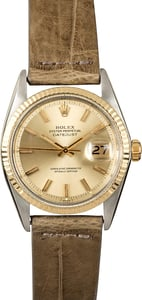 Rolex Vintage Datejust 1601 100% Authentic