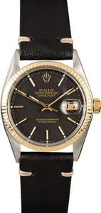 Rolex Vintage Datejust 1601 Black