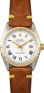 Rolex Vintage Datejust 1601 Certified Pre-Owned
