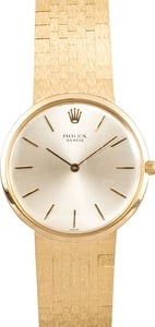 Rolex Vintage Men's Watch 18K Gold