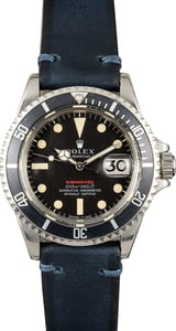 Rolex Vintage Red Submariner 1680