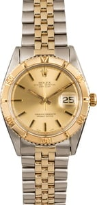 Pre Owned Rolex Datejust Thunderbird 1625 American Oval Link