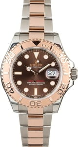 PreOwned Rolex Yacht-Master 116621 Two Tone Everose