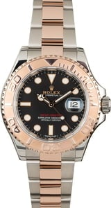 PreOwned Rolex Yacht-Master 116621 Two Tone Everose Oyster Band