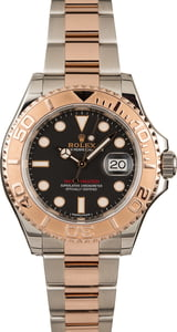 Used Rolex Yacht-Master 116621 Two Tone Everose Oyster Band