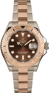 Rolex Yacht-Master 116621 Chocolate Dial Two Tone Everose