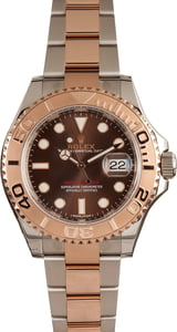 Rolex Yacht-Master 116621 Two Tone Everose Chocolate Dial