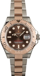 Used Rolex Yacht-Master 116621 Two Tone Everose Oyster