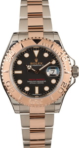 Pre Owned Rolex Yacht-Master 116621 Two Tone Everose Oyster Bracelet