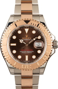 Pre-Owned Rolex Yacht-Master 116621 Chocolate Dial