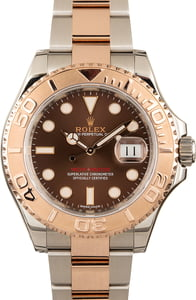 Used Rolex Yacht-Master 116621 Two Tone with Chocolate Dial