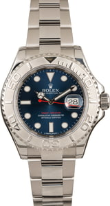 Used Rolex Yacht-Master 116622 Blue Dial Luminous