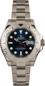 Used Rolex Yacht-Master 116622 Blue Dial Watch