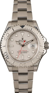 Used Rolex Yacht-Master 116622 Platinum Timing Bezel