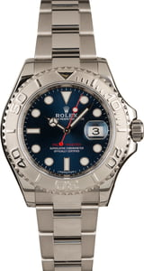 Used Rolex Yacht-Master 116622 Blue Dial Men's Watch