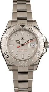 Used Rolex Yacht-Master 116622 Platinum Luminous Dial