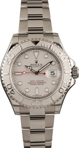 Pre Owned Rolex Yacht-Master 116622 Platinum Dial