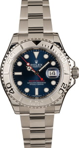 Pre-Owned Rolex Yacht-Master 116622 Platinum Bezel