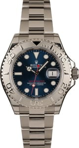 Used 40MM Rolex Yacht-Master 116622 Blue Dial