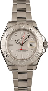 Used Rolex 40MM Yacht-Master 116622 Platinum Dial