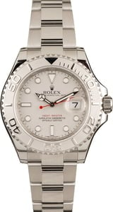 Pre-Owned Rolex Yacht-Master 116622 Steel & Platinum