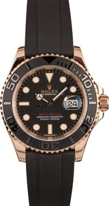 Pre-Owned Rolex Yacht-Master 116655 Black Ceramic Bezel