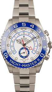 Pre-Owned Rolex Yacht-Master II Stainless Steel 116680 Ceramic Bezel T