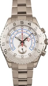 Pre-Owned 44MM Rolex Yacht-Master II Ref 116689 White Gold