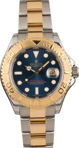 Pre Owned Rolex Yacht-Master 16623 Blue Dial with Two Tone Oyster