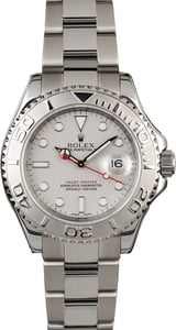 Rolex Yacht-Master 16622 with Platinum Timing Bezel