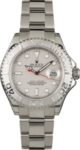 Rolex Yacht-Master 16622 Platinum Dial and Bezel