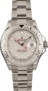 Used Rolex Yacht-Master 16622 Platinum Dial