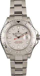 Used Rolex Yacht-Master 16622 Platinum Bezel and Dial 40MM