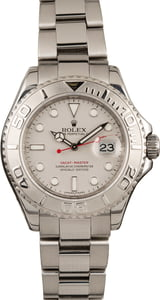 Pre-Owned Rolex Yacht-Master 16622 Platinum Bezel and Dial 40MM