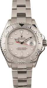 Pre Owned Rolex 16622 Yacht-Master Platinum Bezel