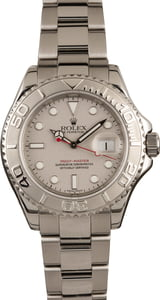 Rolex Steel Yacht-Master 16622 Timing Bezel