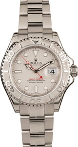 Used Rolex Yacht-Master 16622 Platinum Dial & Bezel