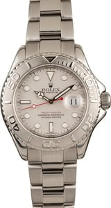 Pre-Owned Rolex 40MM Yacht-Master 16622 Platinum Bezel