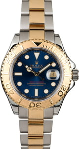Two Tone Rolex Yacht-Master 16623 Blue Dial